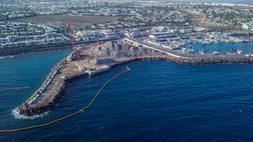 Playa Blanca's New port